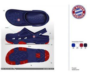 Bild Bayern München Schuh Design