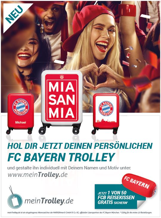 Bild Anzeige Bayern München